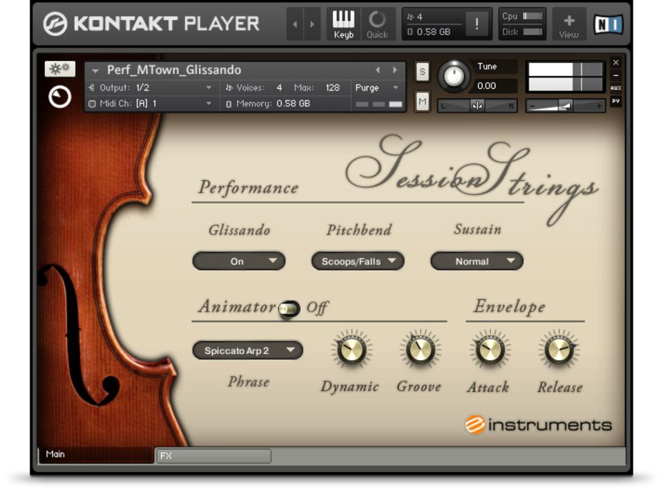 Komplete : Cinematic : Session Strings | Products