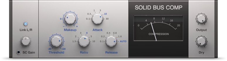 Native Instruments Solid Bus Comp, Best Compressors