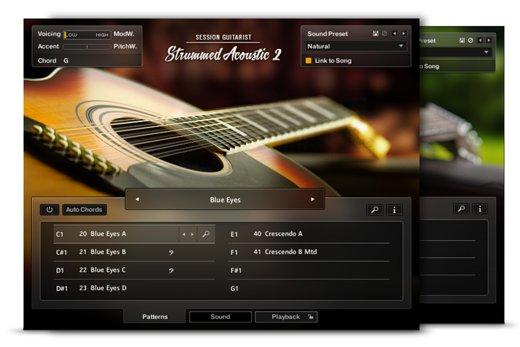 guitare acoustique kontakt