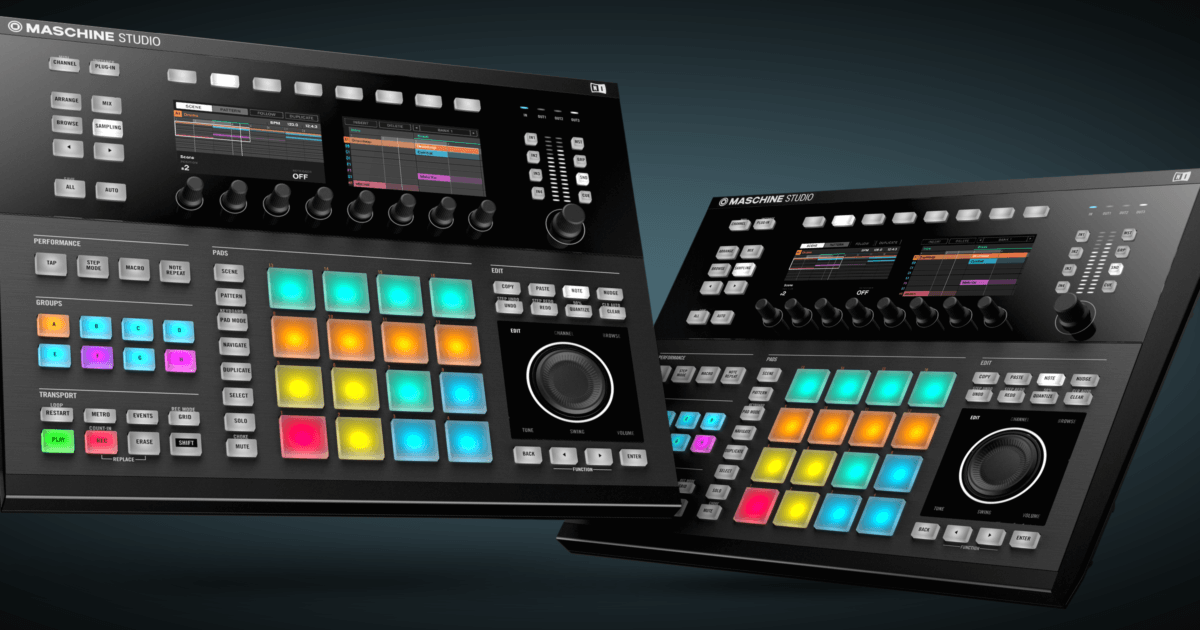 maschine production systems maschine studio products. Black Bedroom Furniture Sets. Home Design Ideas