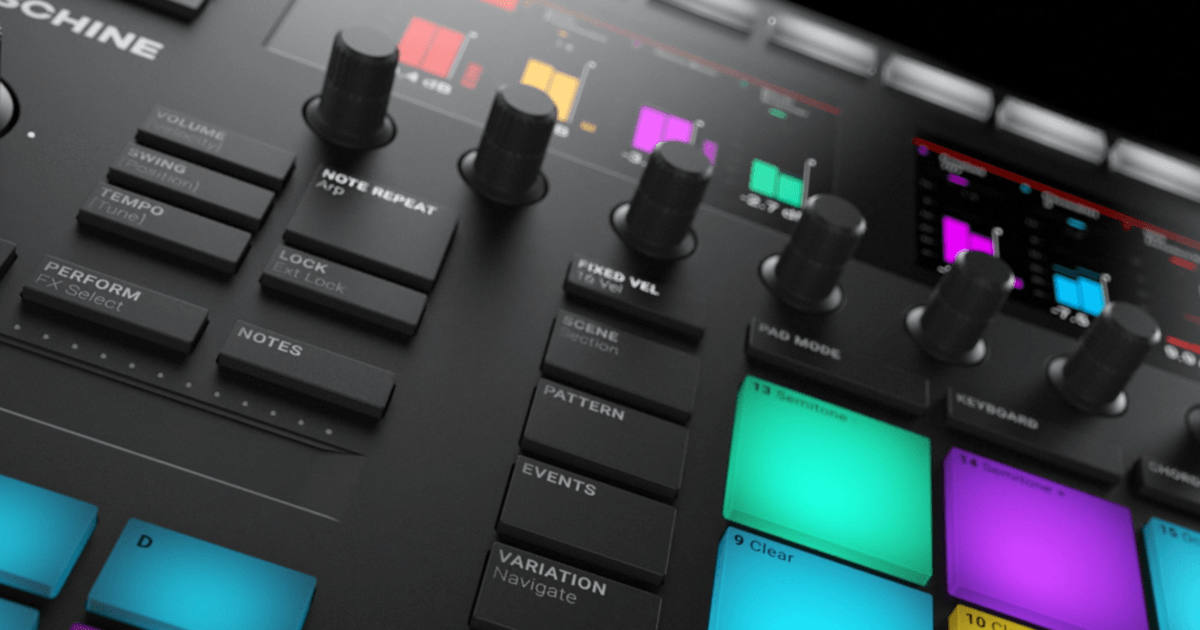 Maschine : Production Systems : Maschine : Specifications | Products