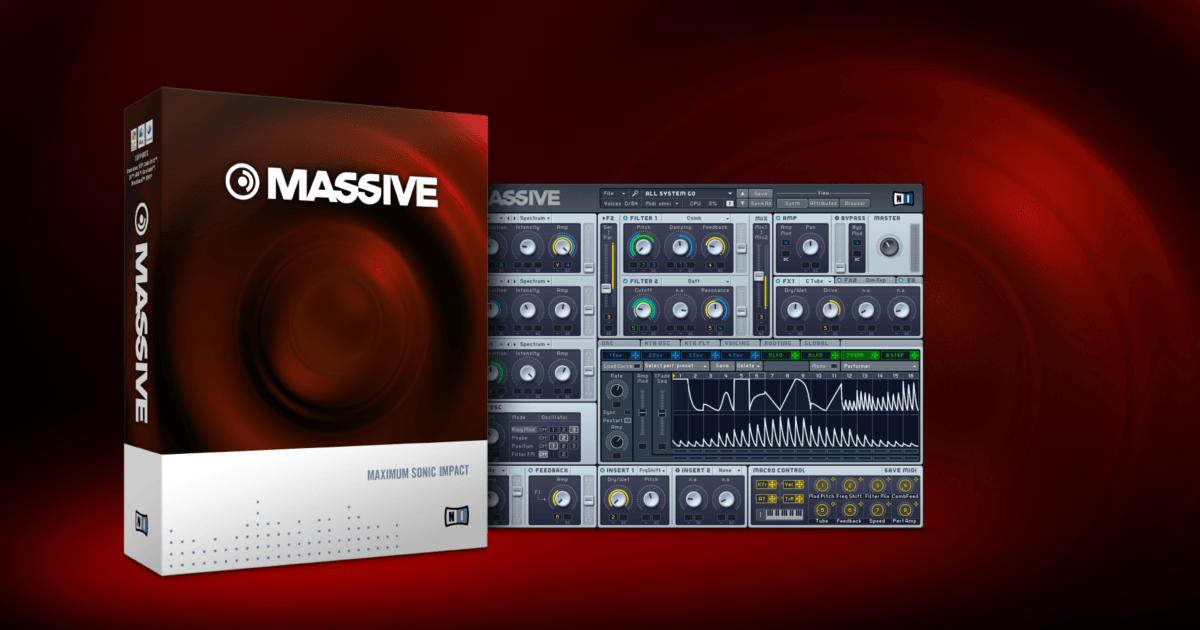 دانلود vst حرفه ایNative Instruments Massive 1.4.0