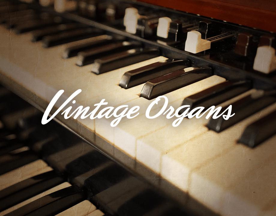 Komplete : Keys : Vintage Organs : Demo Version   Products