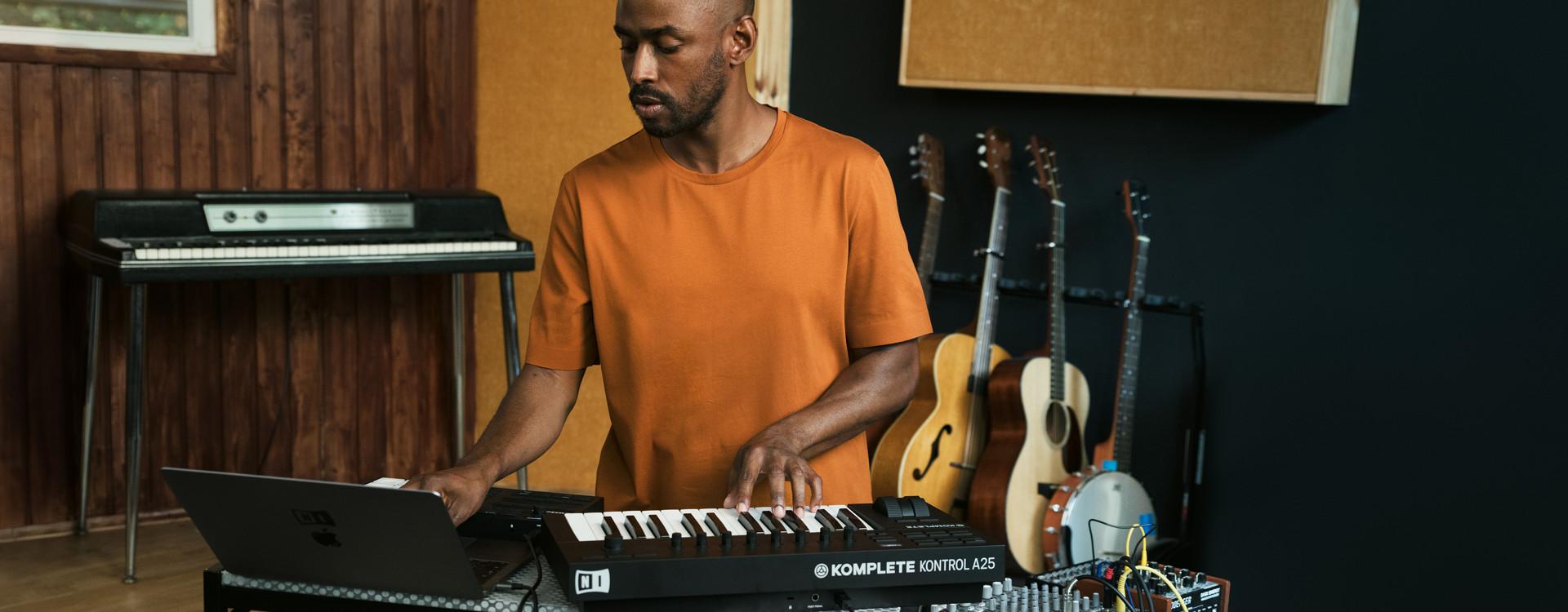 Native Instruments Komplete Kontro Mac 破解版 MIDI键盘控制器-麦氪派