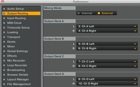 2 channel audio setup