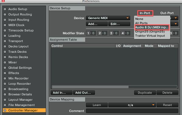 MIDI Input