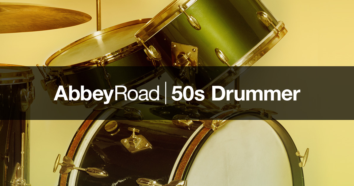 Komplete : Drums : Abbey Road 50S Drummer | Products