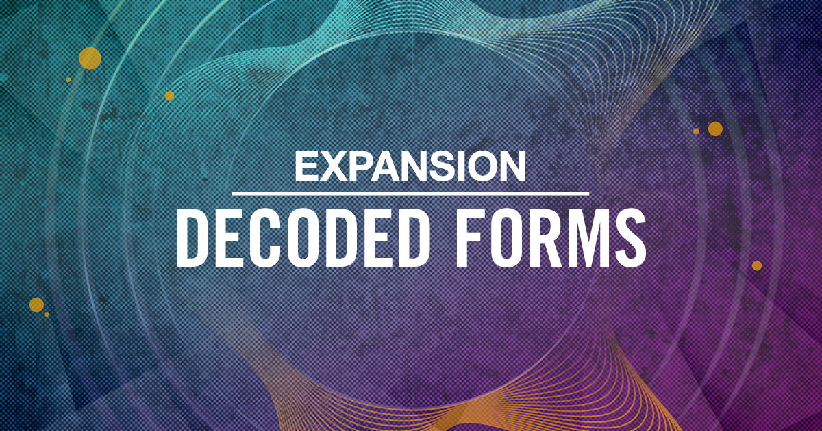 Komplete : Expansions : Decoded Forms | Products