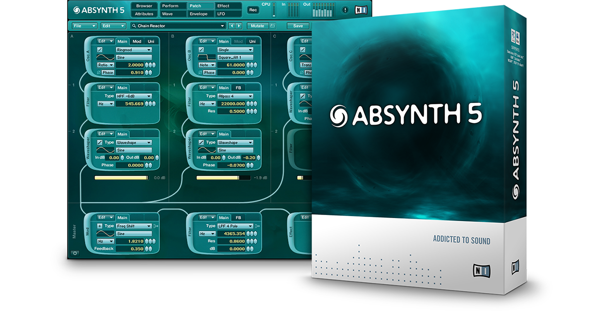 Komplete Synths Absynth 5 Products