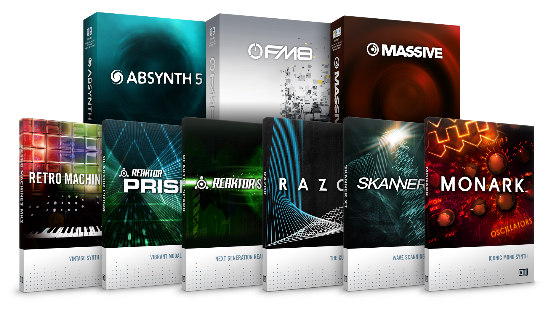 Some of my KOMPLETE 9 (ULTIMATE ... - Native Instruments
