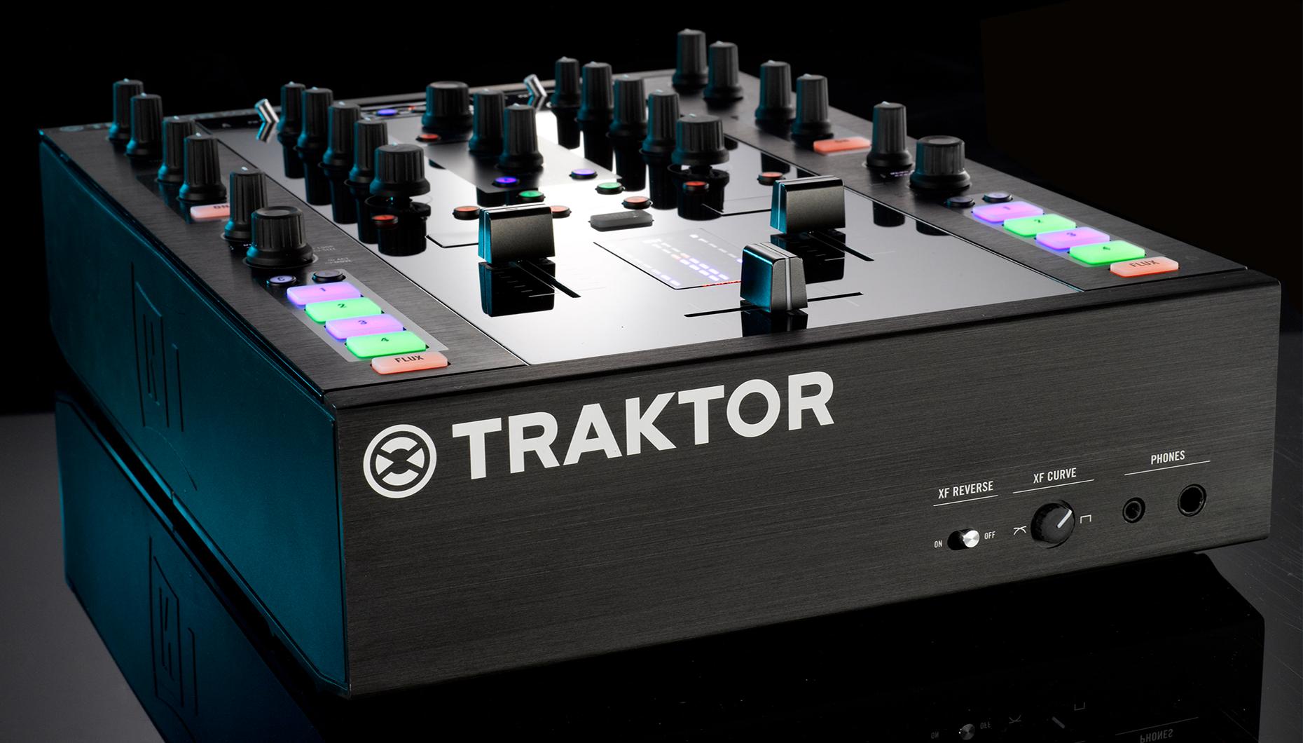 The World s First 2 2 Control MixerTraktor Z2 Case