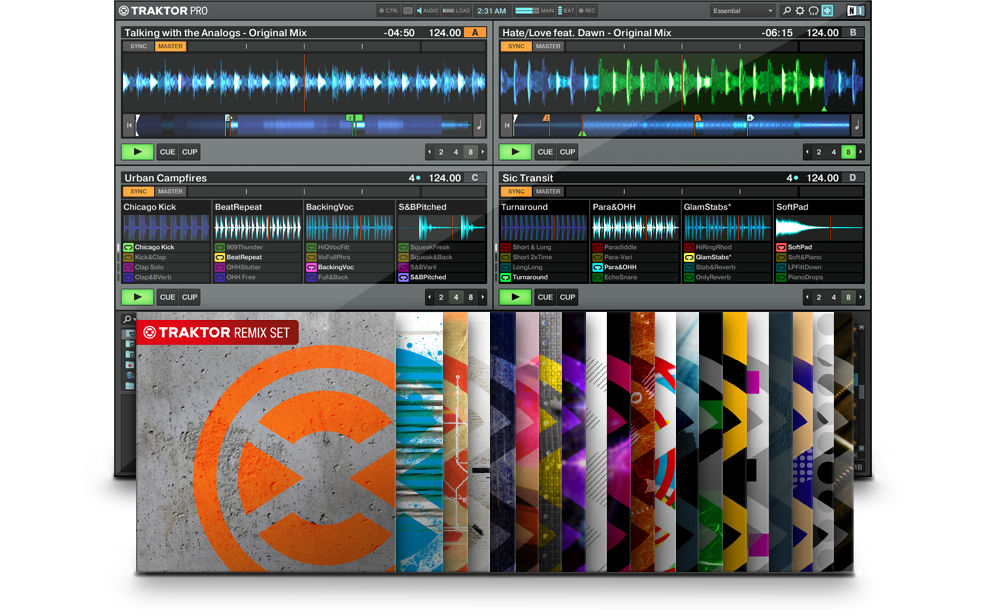 Traktor Dj Software Traktor Pro 2 Traktor Remix Sets