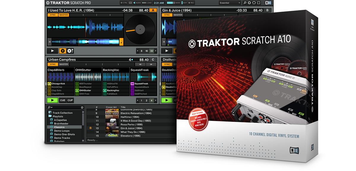 Traktor Digital Vinyl Traktor Scratch A10 Products
